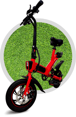 m2020 ebike on grass